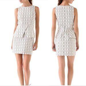 Tibi Asher Peplum Dress